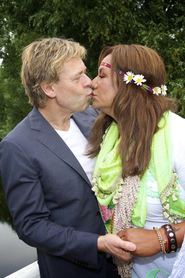 Patty Brard en Antoine van de Vijver zijn in Patty's Big Fat Ibiza Wedding te volgen in de aanloop naar hun bruiloft. Beeld anp