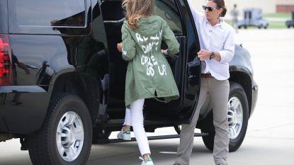 Waarom Melania's jas niet zomaar een jas is