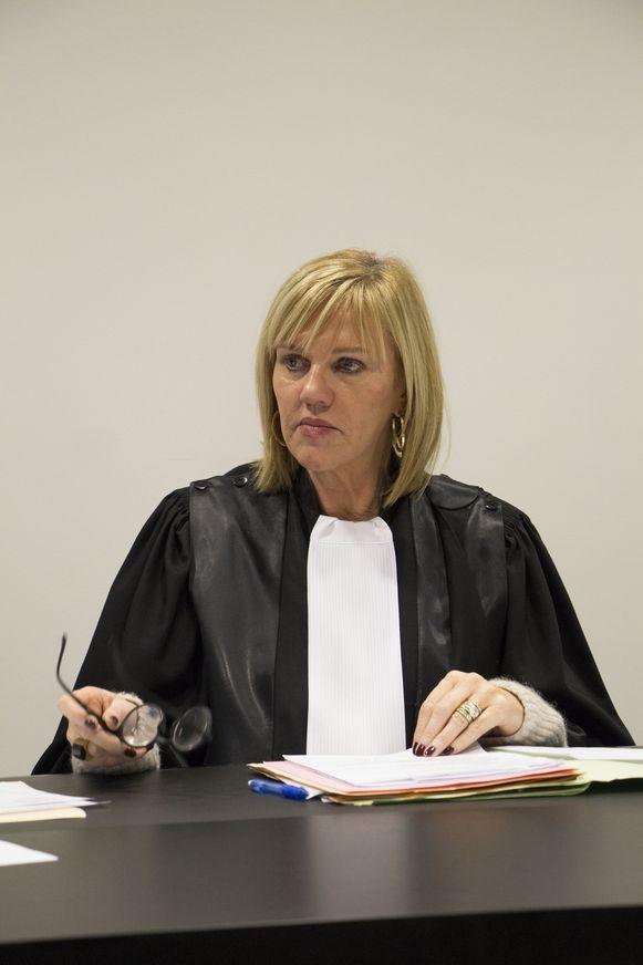 Politierechter Mireille Schreurs.
