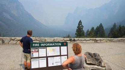 Yosemite National Park gedeeltelijk gesloten door natuurbrand