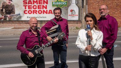 Nieuwe band Lucie K's Nomadics plant groot Dank U Concert in Wichelen