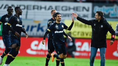 """Ingevallen Refaelov loodst Antwerp met héérlijke vrije trap voorbij Kortrijk: """"Er staat nergens in mijn contract dat ik moet starten"""""""