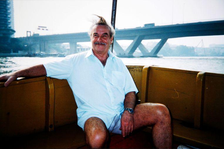 Fritzl tijdens een vakantie in 1998 in Thailand.