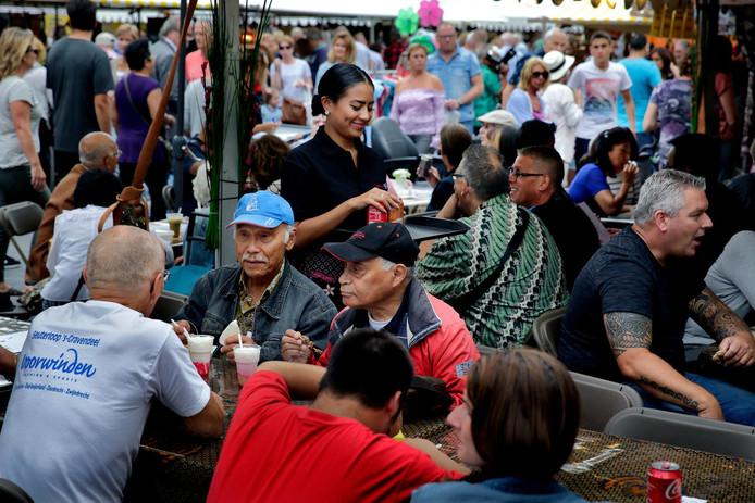 Het was goed druk op de eerste dag van de Pasar Malam.