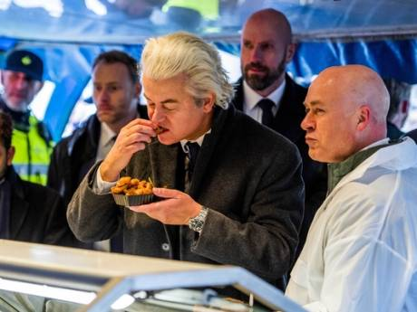 Bliksembezoek Geert Wilders aan 'hometown' Spijkenisse