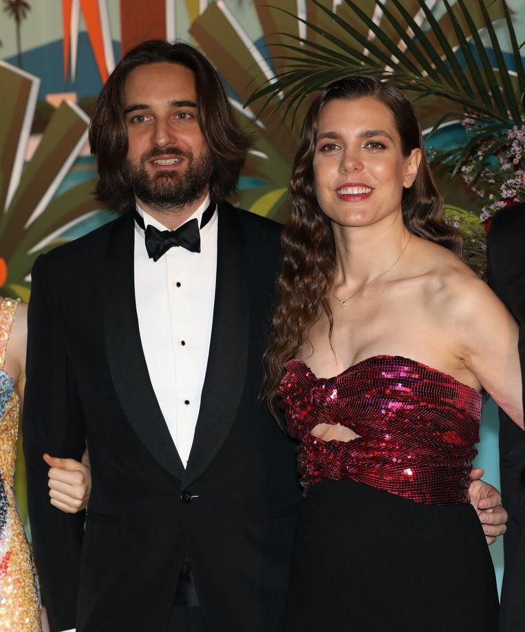Charlotte en Dimitri verschenen onlangs samen op het jaarlijkse Rozenbal in Mexico.