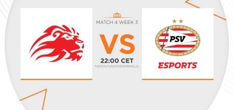 Voormalige strijd der titanen vanavond in de Dutch League: LowLandLions tegen PSV Esports
