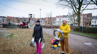 Lichtfestival palmt omgeving van Baudelopark in