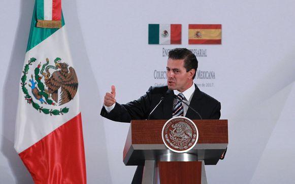 President Enrique Peña Nieto.