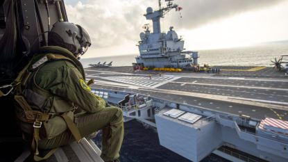 Vijftig coronagevallen vastgesteld op Frans vliegdekschip