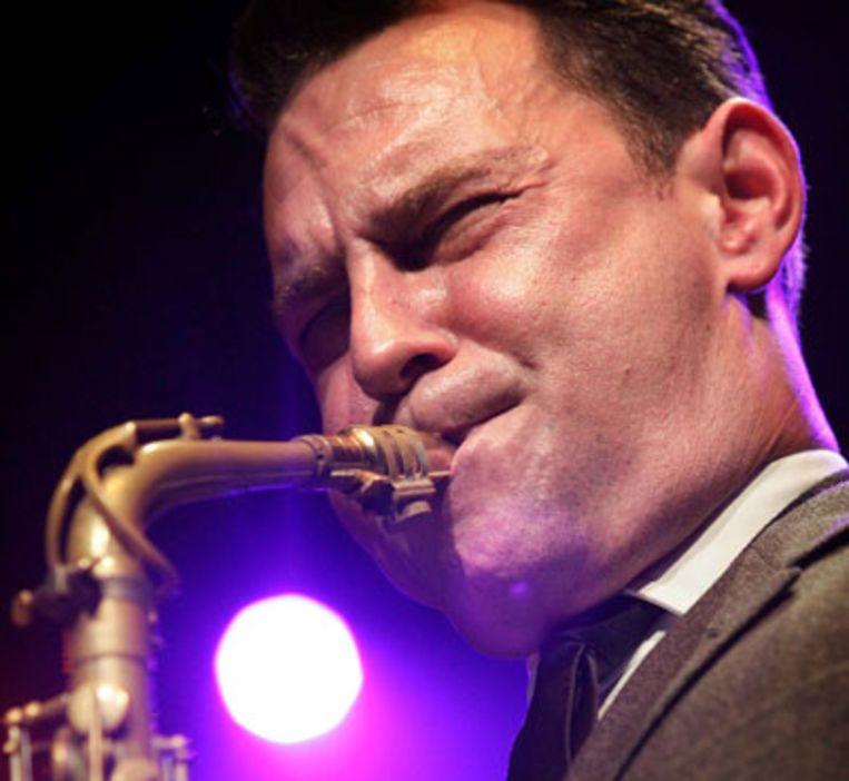 Saxofonist Benjamin Herman (ANP) Beeld