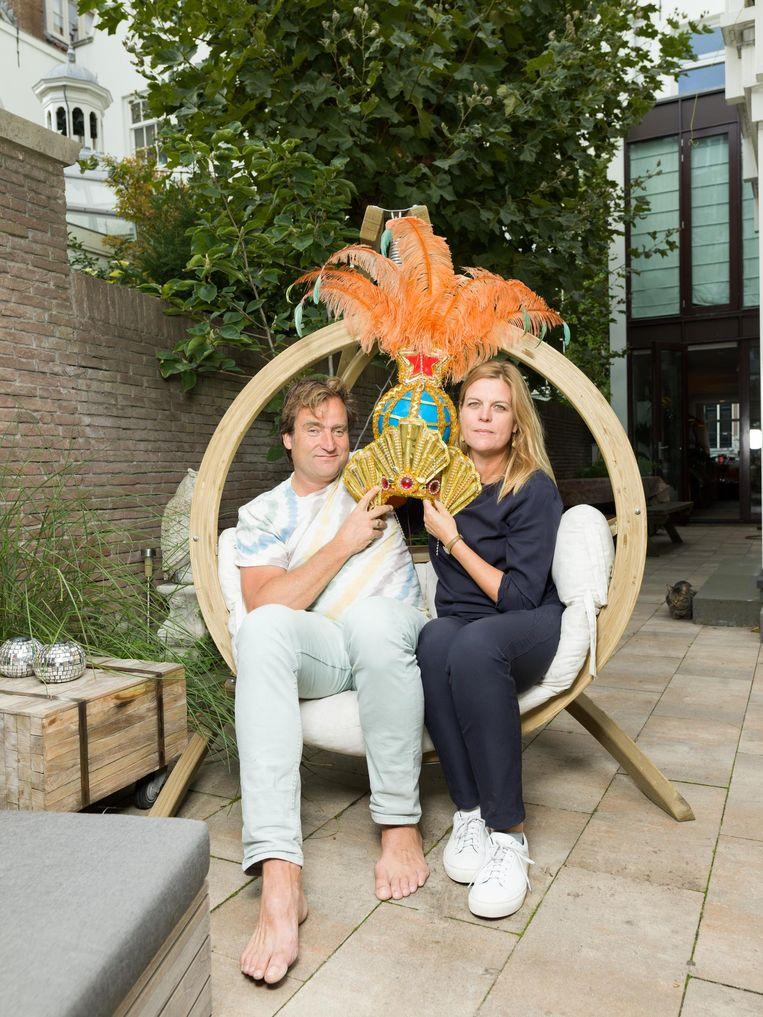 Wien Sillevis Smitt: 'Die hoed is verbannen naar Huubs mancave' Beeld Ivo van der Bent