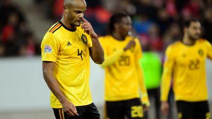Rode Duivels behouden eerste plaats op FIFA-ranking ondanks afgang in Zwitserland
