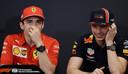 Charles Leclerc en Max Verstappen