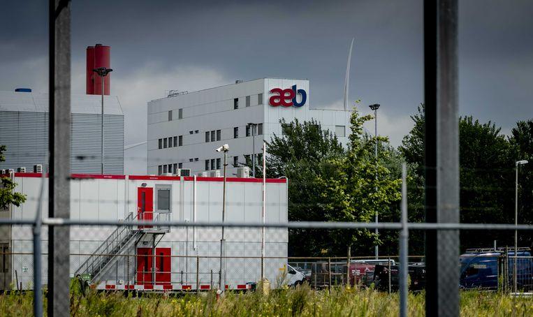 Het Amsterdamse Afval Energie Bedrijf (AEB).  Beeld ANP