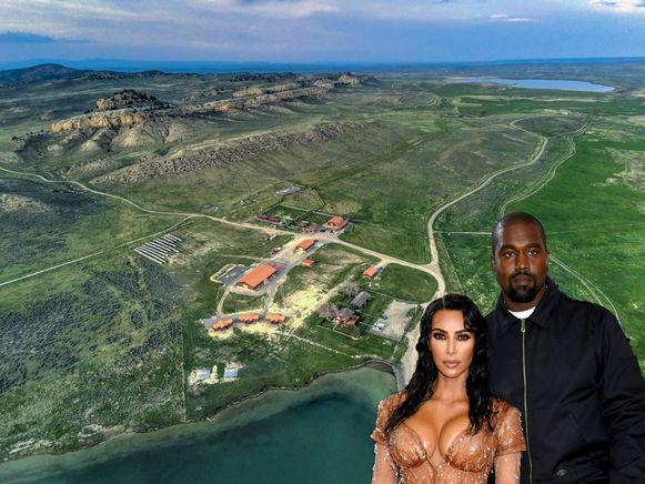 Kim en Kanye hebben zonet een ranch gekocht.