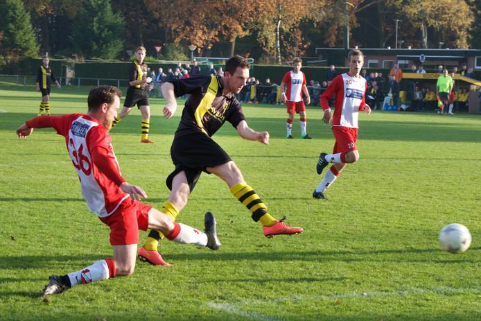 Fabian Mösle scoorde voor Redichem. Archieffoto Marc Pluim
