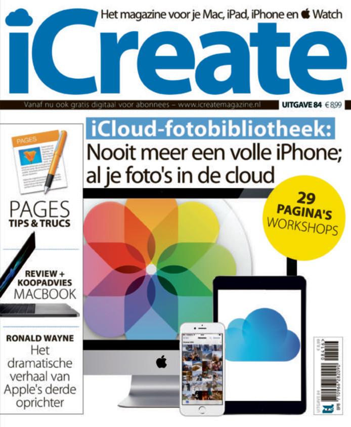 iCreate, een van de tijdschriften van F&L Publishing Group in Nijmegen.