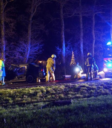 Automobilist zwaargewond na botsing tegen boom in Neede