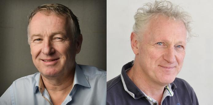 Henk van Schuppen (l) en Hans Brok