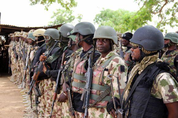 Nigeriaanse soldaten.