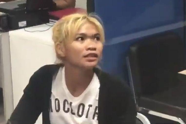 Karuna Sanusan (24) hakte het geslacht van haar man af nadat ze had ontdekt dat hij meerdere affaires had.