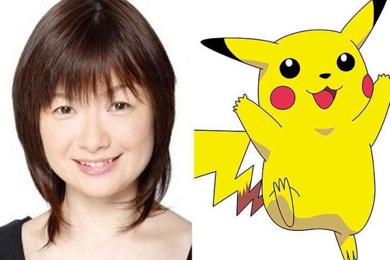 Ikue Otani is Pikachu.