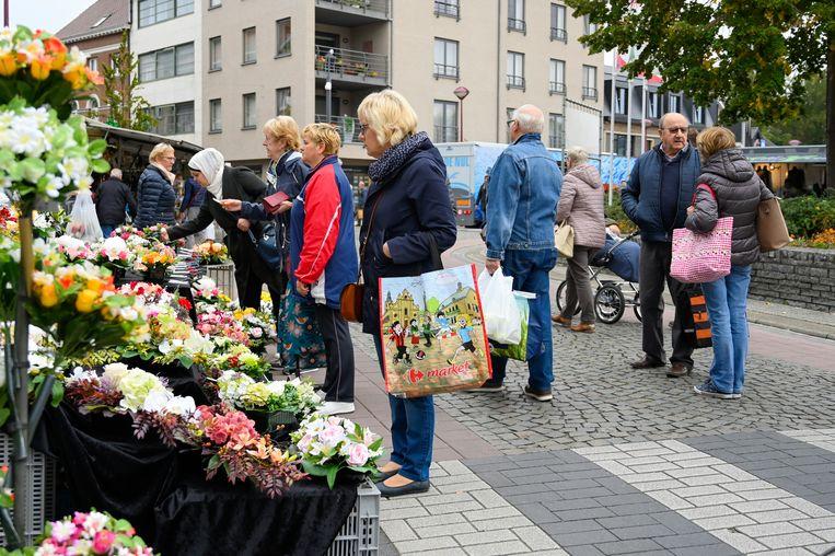 Archiefbeeld marktdag Zele