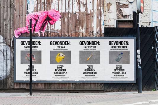 Ondertussen is er ook een postercampagne.