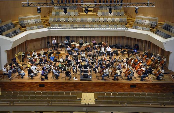 De begroting van het Muziekgebouw in Eindhoven is nog steeds een drama. archieffoto jean pierre reijnen