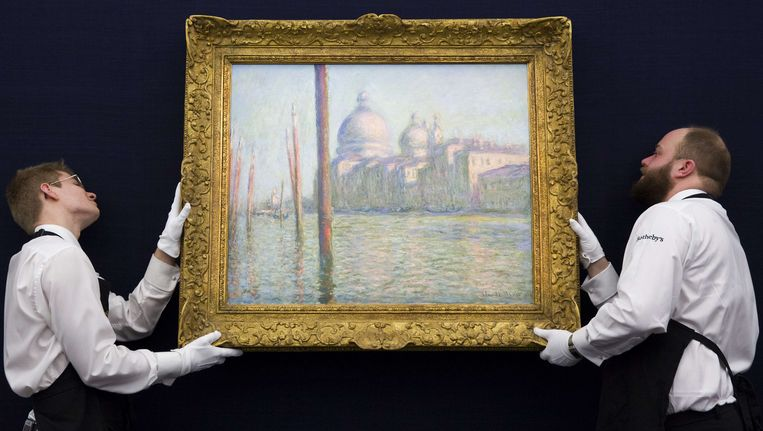 'Le Grand Canal' van Monet.