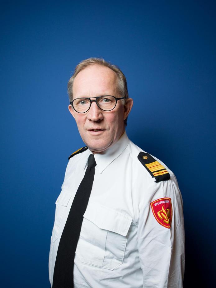 Brandweerexpert Elie van Strien