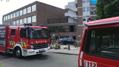 Wasmachine vat vuur in kelder Redingenhof