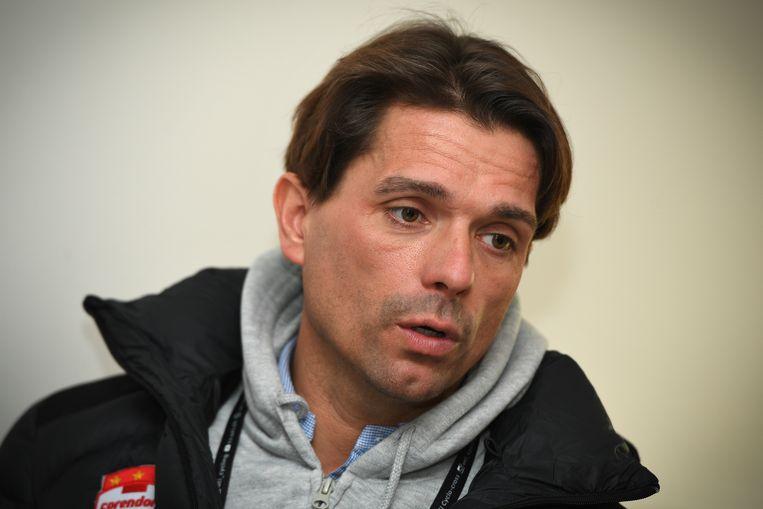 Christophe Roodhooft is ploegmanager van het Corendon Circus Cycling Team van Mathieu van der Poel.