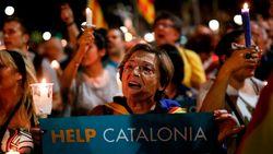 Ruim 200.000 mensen protesteren in Barcelona tegen opsluiting van separatisten