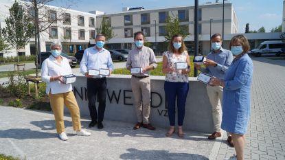 Serviceclub en Ducaju schenken eerste 6.000 mondmaskers van Meulebeekse makelij aan woonzorgcentra