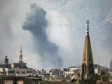 Tientallen doden en gewonden door bombardementen Syrië