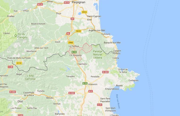 Het incident speelde zich af aan de grensovergang tussen Frankrijk en Spanje in La Jonquera.
