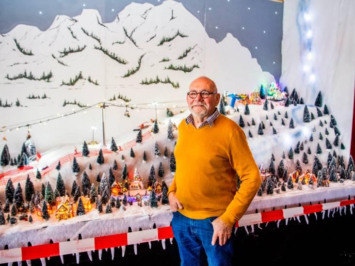 Kerstdorp in voetbalkantine dijt elk jaar uit