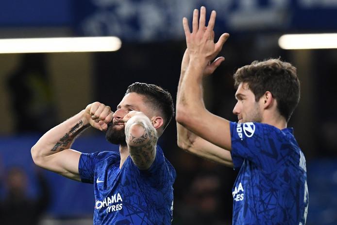 Le retour en grâce d'Olivier Giroud à Chelsea, une bonne nouvelle pour les Bleus