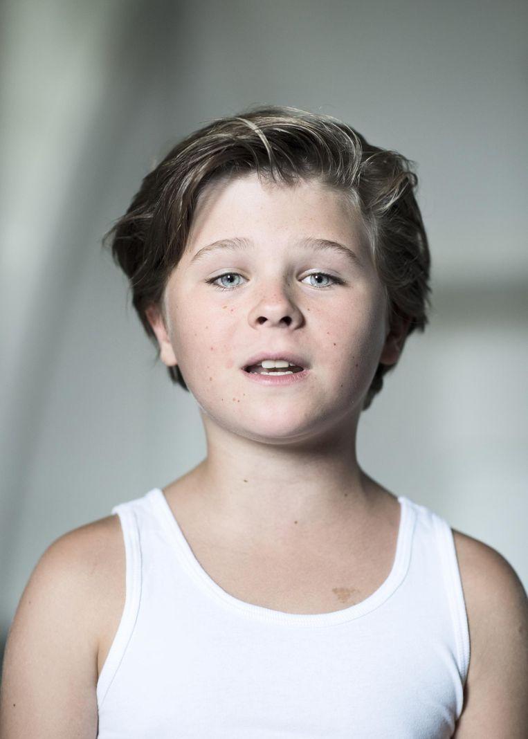Mathieu (10) uit Weert Beeld Linelle Deunk
