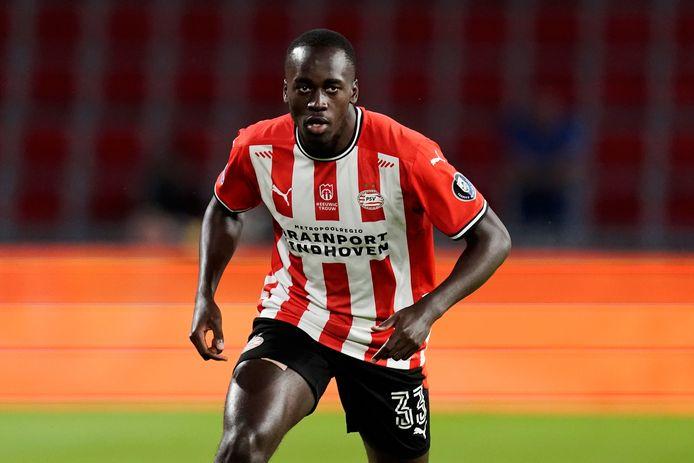 Jordan Teze in actie voor PSV.