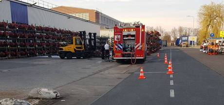 Gasflessen ontploft bij DAF in Eindhoven