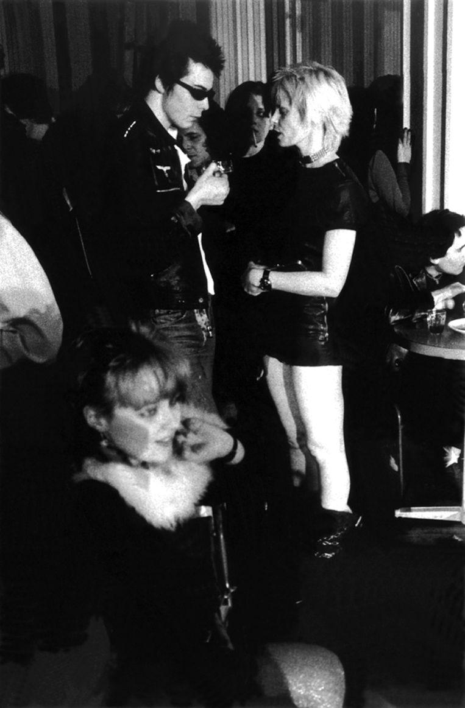 Met Sid Vicious, voorman van de Sex Pistols. Beeld Redferns