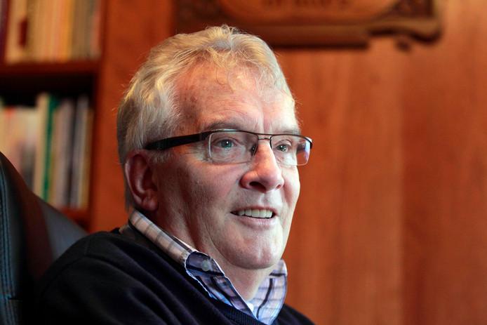 Archieffoto van Arie van der Veer, die afgelopen maandag getroffen werd door een herseninfarct en in het ziekenhuis verblijft.
