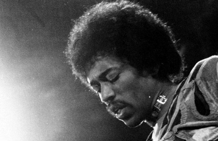 Jimi Hendrix in 1970. Beeld anp
