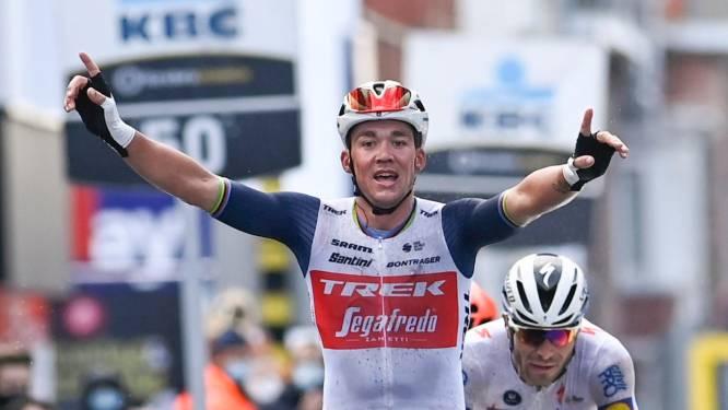 """Mads Pedersen droomt van grote triomfen aan zijde van Jasper Stuyven: """"Jappe en ik, wij zijn 'a pair of kings'"""""""
