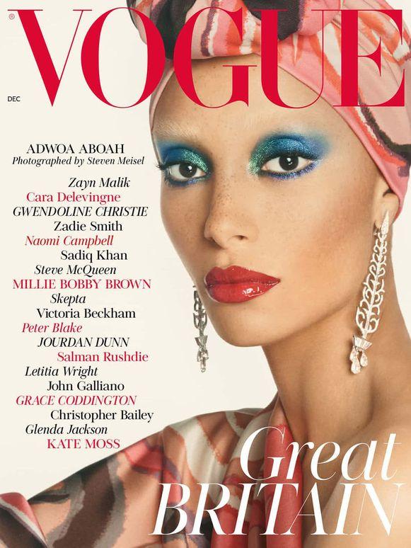 """De nieuwe Vogue. """"Onherkenbaar als modeblad"""", menen critici."""