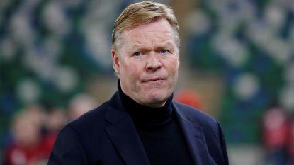 Nederlandse bondscoach Ronald Koeman moet tijdje rust nemen na hartoperatie
