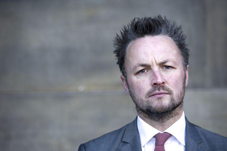 Jeroen Soeteman, de advocaat die Celtic bij staat. Beeld anp